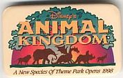 Disney\'s Animal Kingdom Logo from 1998