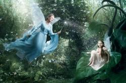 julie andrews by Annie Leibovitz