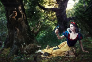 Rachel Weisz by Annie Leibovitz
