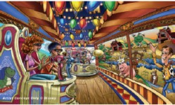 Toy Story Mania - Concept art