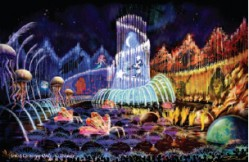 World of Color Concept Art