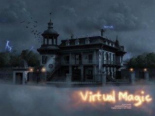 3D Model for Ken Anderson designed concept art Haunted Mansion
