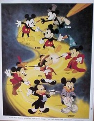 Mickey Mouse Through The Years