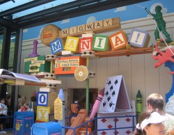 Toy Story Midway Mania! Marquee
