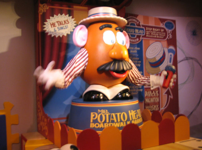 Mr. Potato Head really impresses