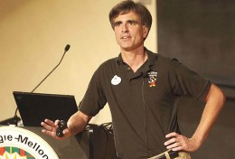 "Randy Pausch, CMU Profession, Disney Imagineer, ""Last Lecture\"" author"
