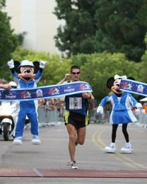 John Lucas wins Disneyland Half-Marathon