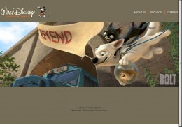 Walt Disney Animation Studios new website