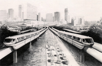 A Vision of a Monorail Future