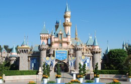 Sleeping Beauty Castle Forecourt