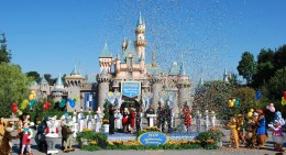 After Danielle was announced, confetti immediately filled the sky of the Castle Forecourt.