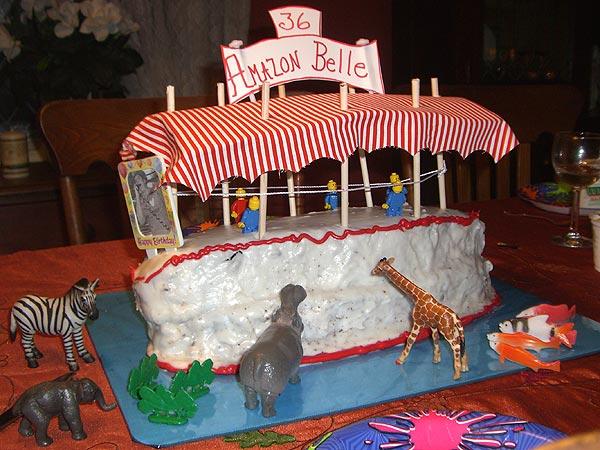 Amazing Jungle Cruise Birthday Cake The Disney Blog