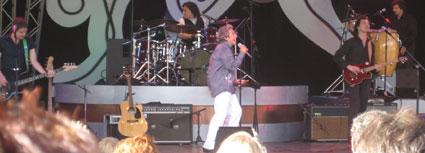 Davey Jones performs at Flower & Garden Festival