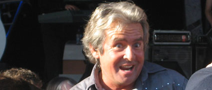 Davey Jones entertains at EPCOT