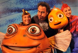 brad garrett at Finding Nemo