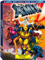 marvel x-men vol one dvd