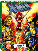 marvel x-men vol two dvd