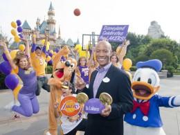 Lakers Celebration at Disneyland