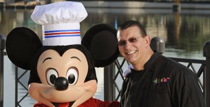 Chef Robert Irvine, Chef Mickey, Epcot