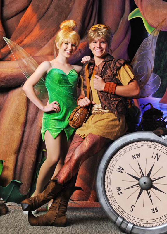 new pixie joins tinker bell at magic kingdoms pixie