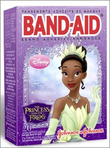Princess-and-the-frog-bandaid