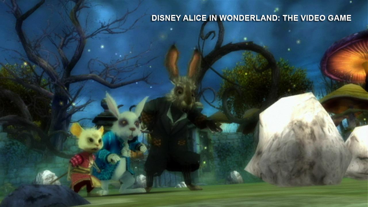 Alice In Wonderland Games: Alice In Wonderland Video Games Coming Soon
