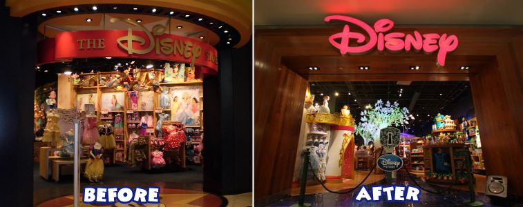disney brings magic back to the east coast with new disney store the disney blog. Black Bedroom Furniture Sets. Home Design Ideas