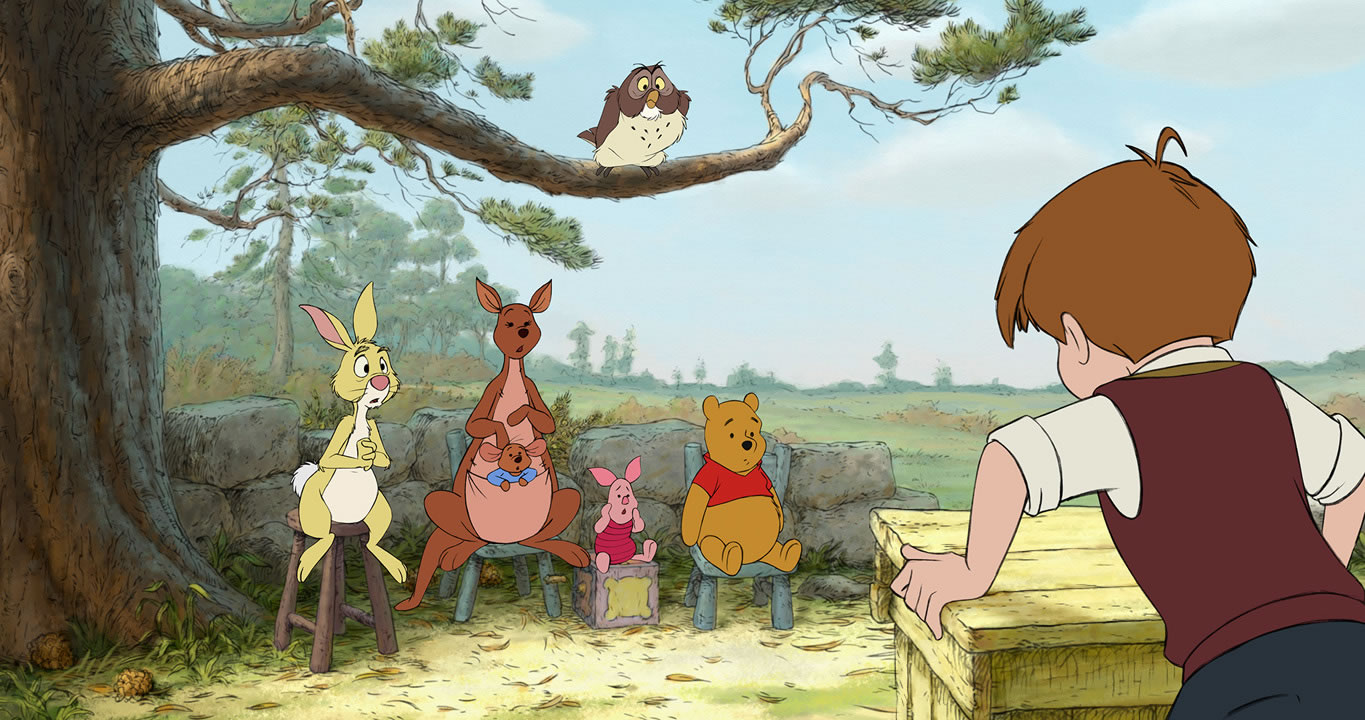 Details Of New Winnie The Pooh Animated Feature Revealed