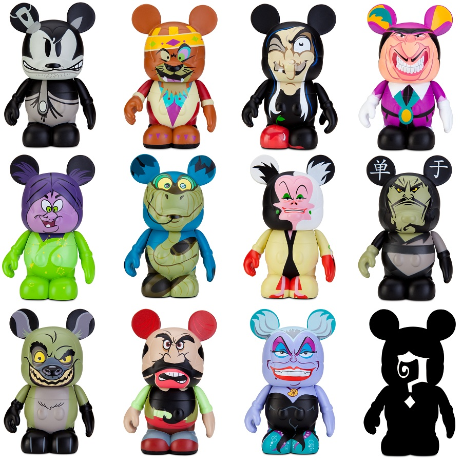 Exclusive Disney Store Villains Vinylmation Preview
