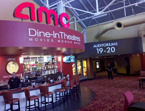 Amc Dine In Theatre Opens At Downtown Disney Orlando The