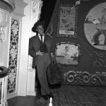 Wally Boag as the Traveling Salesman at Disneyland's Golden Horseshoe Revue