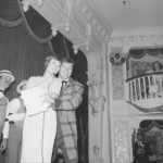 Wally Boag with Julie Andrews at Disneyland's Golden Horseshoe Revue