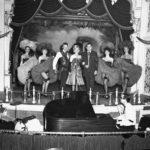 An early cast photo of Disneyland's Golden Horseshoe Revue