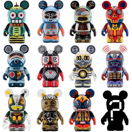 Robot Vinylmation Invades The Disney Store The Disney Blog