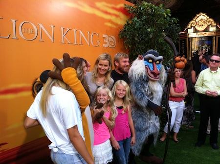 Rick Shroeder & Family