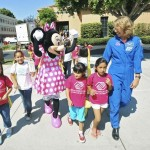 MINNIE MOUSE, SANDY MAGNUS, EAST LOS ANGELES BOYS & GIRLS CLUB