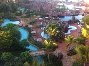 Aulani Resort from my window