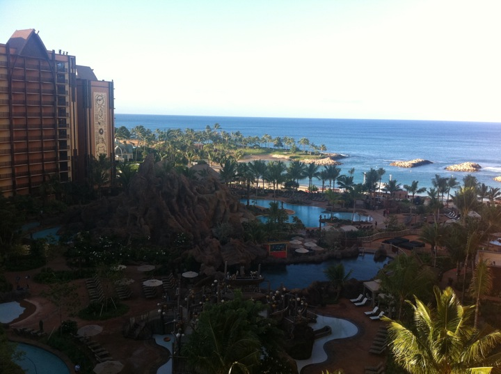 Aulani morning view