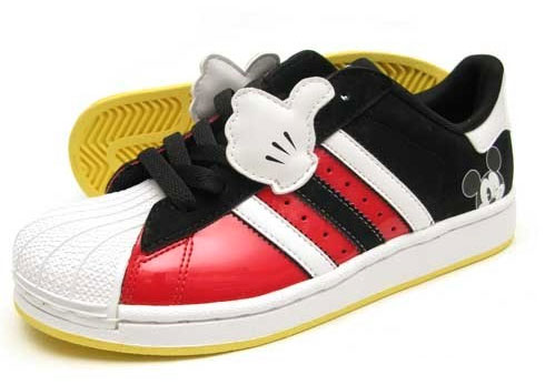 I love these new Mickey Mouse and Pluto themed sneakers from Adidas. These  ones above are limited edition ...