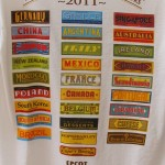 Fun t-shirt : 2011 EPCOT Food & Wine Festival
