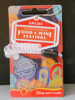 Gift Card - 2011 EPCOT Food & Wine Festival