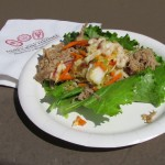 South Korea Lettuce Wrap with Roast Pork and Kimchi Slaw - 2011 EPCOT Food & Wine Festival