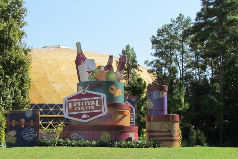 2011 EPCOT Food & Wine Festival Festival Center