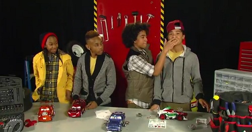 Mindless Behavior at Ridemakerz in Toys R Us | The Disney Blog B2k And Mindless Behavior