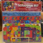 Scrapbook kit for 2012 is out. Here's the front.