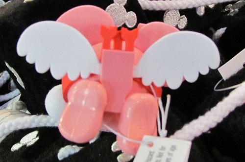 Great new 'cupid' themed Mickey Mouse Antenna ball for Valentine's day. Here's the back