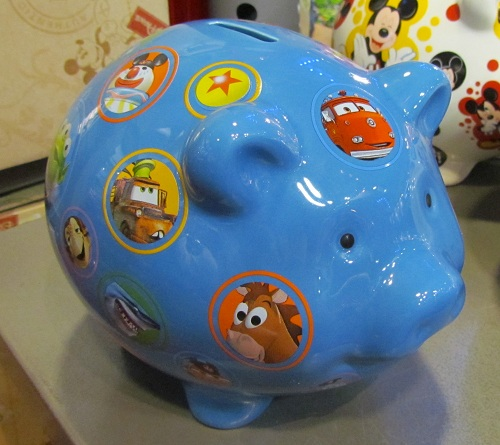 Four new piggy banks appeared at MouseGears. They were flying off the shelves.