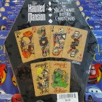 A very nicely designed set of playing cards based on the Nightmare Before Christmas pantheon.