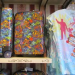 New Suitcase design with park names, Nice t-shirt too