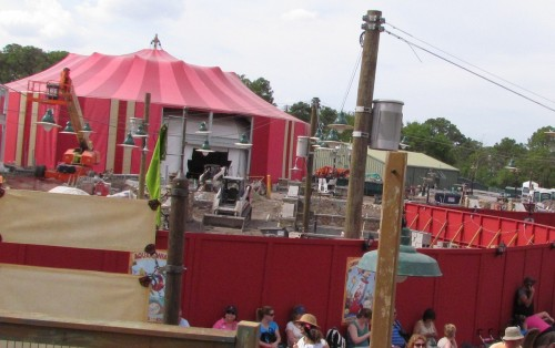 Storybook Circus Expansion Magic Kingdom